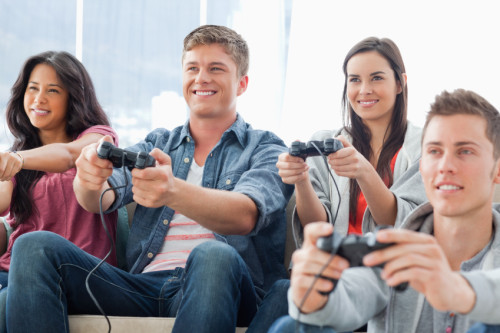 Gaming Beamer: Spielen im Großformat